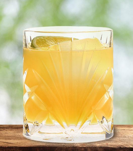 der Saure Fritz Ohhh Mixgetränk mit Orangensaft