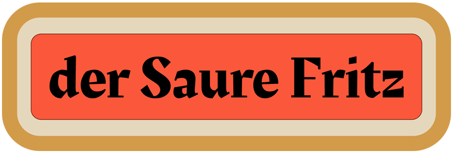 der Saure Fritz - Slider Logo